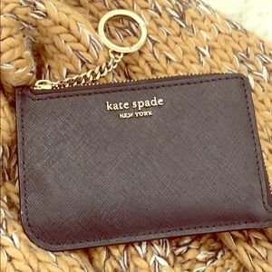 Kate Spade ♠️ Key Chain Wallet/Card Holder